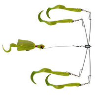 """Blue Water Candy 4-Arm 20"""" Umbrella Rig with 3 oz. Jig"""