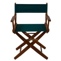 "Extra-Wide Premium Director's Chair, 18"", Hunter Green"
