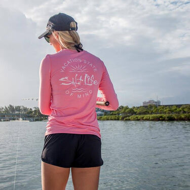 Salt Life Women's State Of Mind Long-Sleeve Performance Tee
