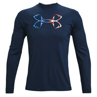 Under Armour Men's Iso-Chill Freedom Hook Long-Sleeve Shirt
