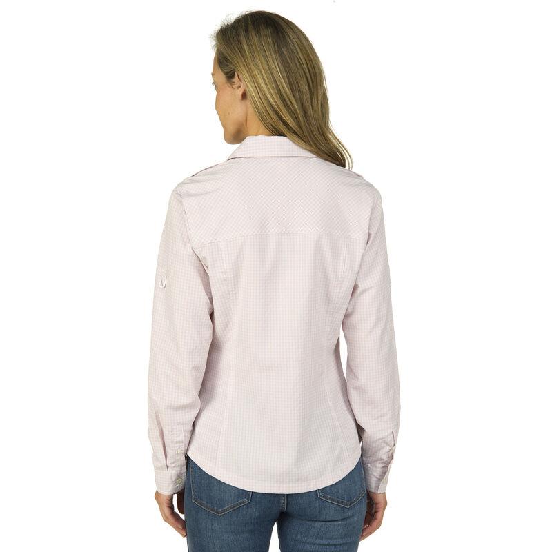 Ultimate Terrain Women's Trailhead Bug Repel Long-Sleeve Plaid Shirt image number 3
