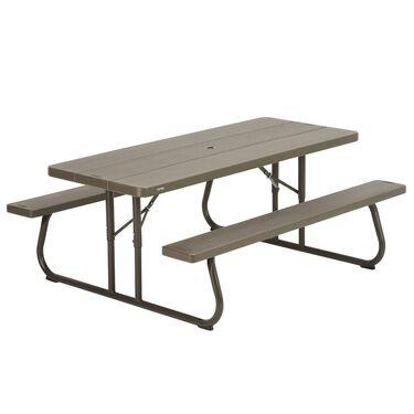 Fold-in-Half Table, 6 foot