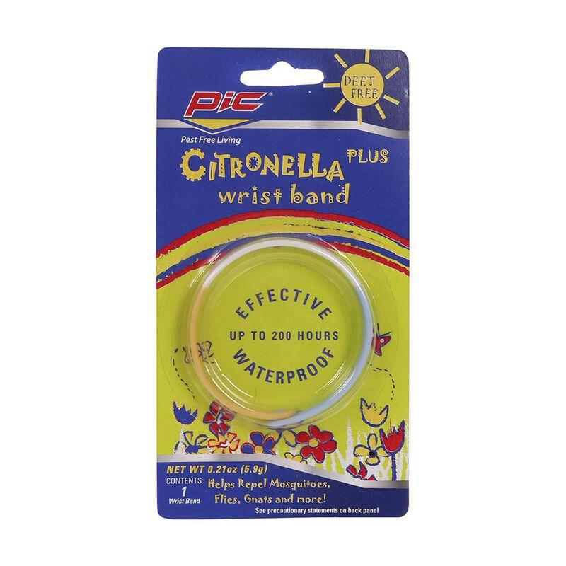 Citronella Plus Mosquito Repellent Wristband image number 4