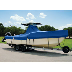 """Taylor Made Cover For Boats With Fixed T-Tops and Bow Rails, 23'4"""" x 102"""""""