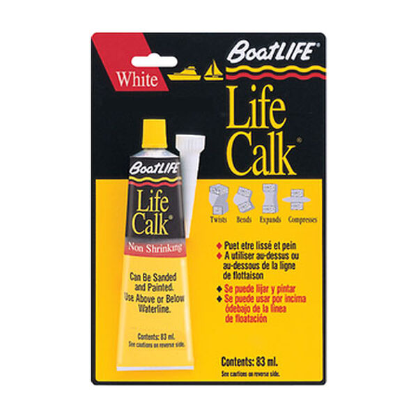 BoatLife Life-Calk Black Sealant, 2.8 oz.