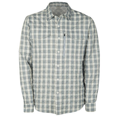 Ultimate Terrain Men's Trailhead Bug Repel Long-Sleeve Plaid Shirt