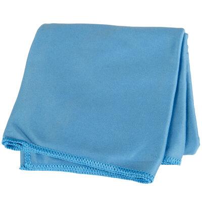 Rock Creek Blue Microfiber Camp Towel, Medium
