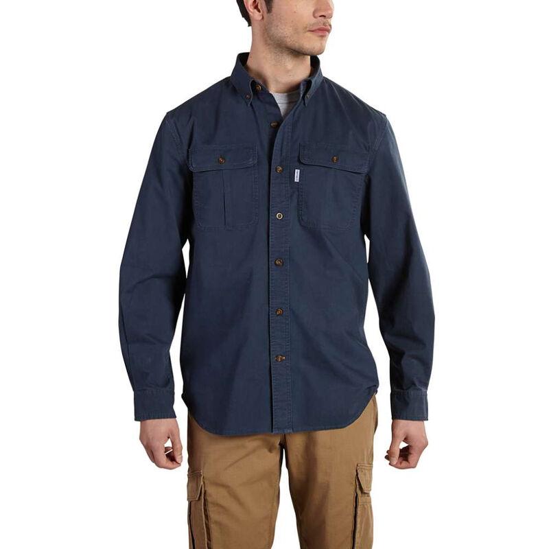 Carhartt Men's Foreman Solid Long-Sleeve Work Shirt image number 2