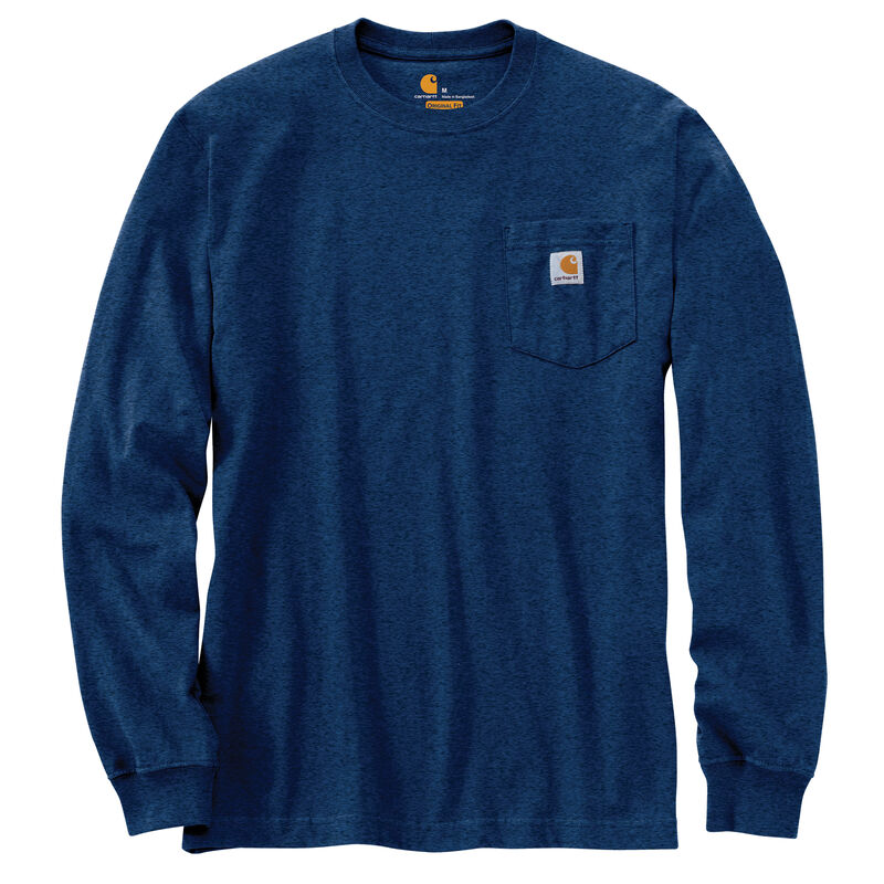 Carhartt Men's Workwear Long-Sleeve Pocket Tee image number 25