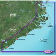 Garmin BlueChart g2 Vision - Norfolk to Charleston