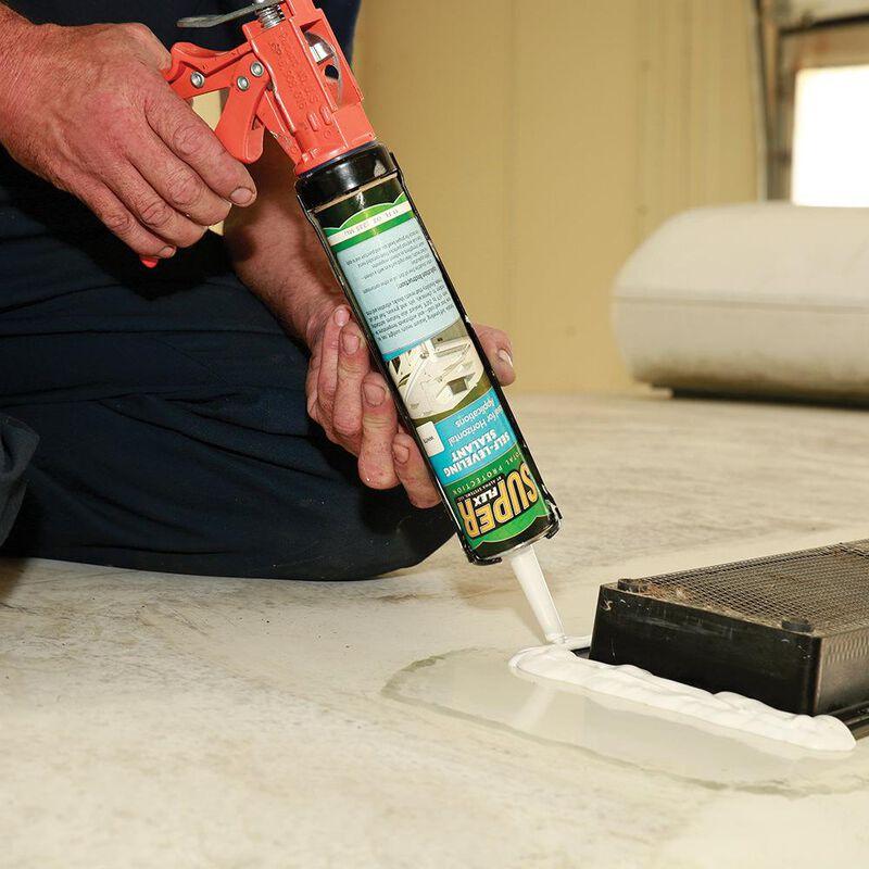 Super Flex Total Protection Self-Leveling Sealant, 11 oz. tube - White image number 4