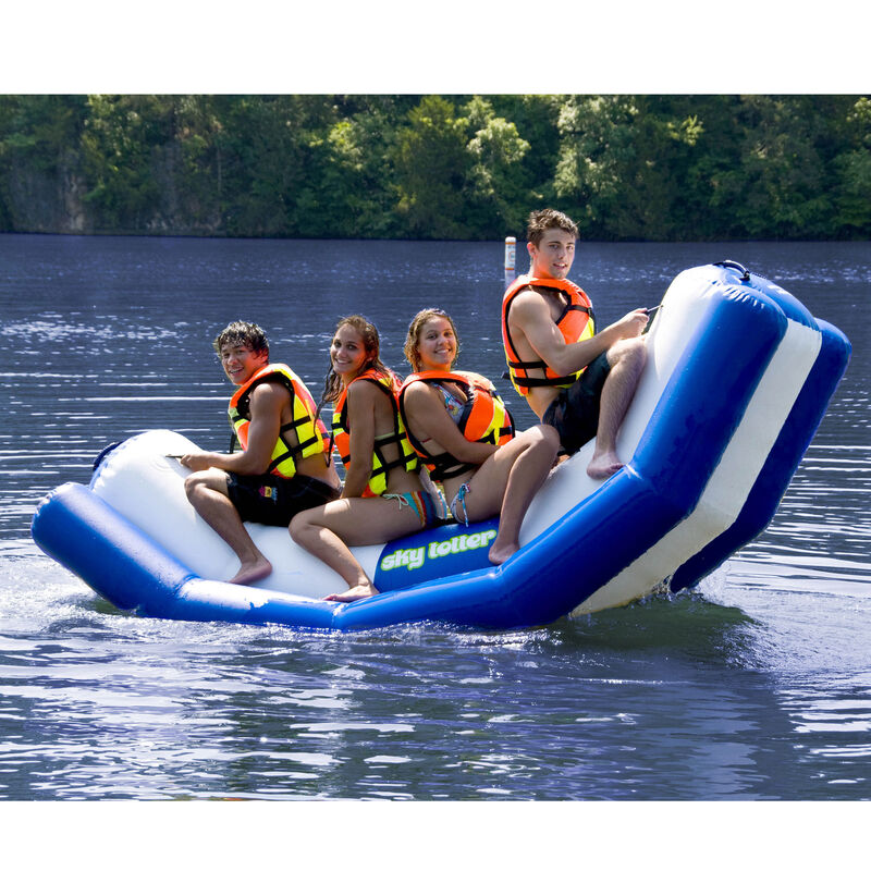 Rave Sky Totter Inflatable Teeter-Totter image number 1