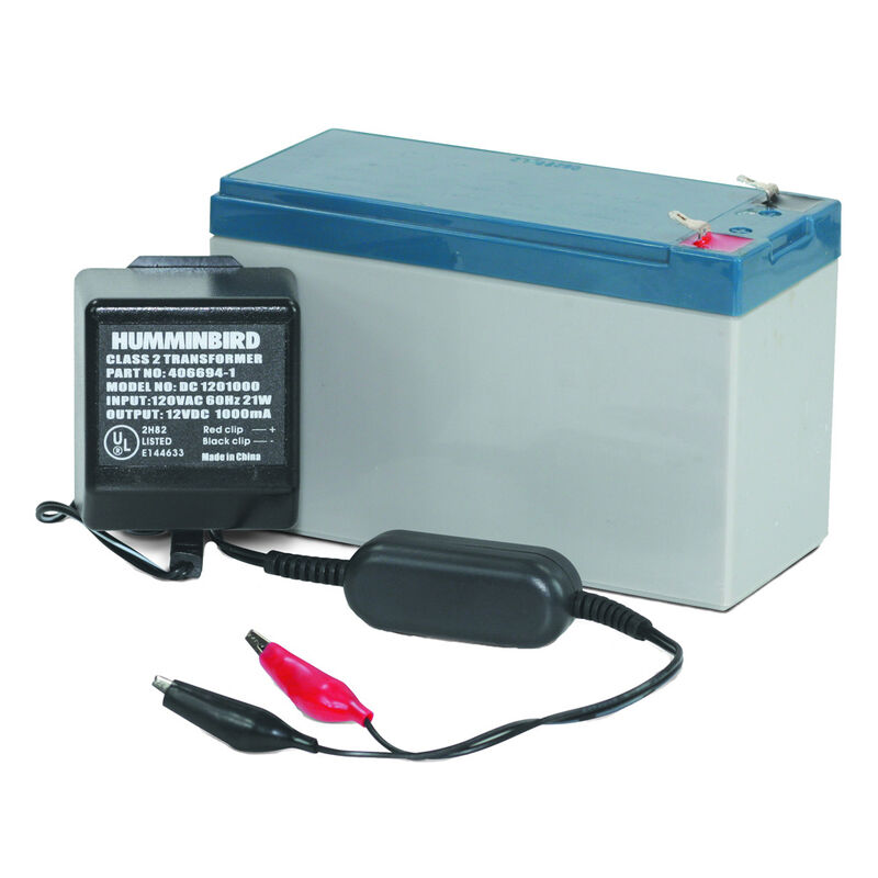 Humminbird GCBK Portable 7-Amp Battery & Charger image number 1