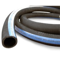 "Shields ShieldsFlex II 1-1/4"" Water/Exhaust Hose With Wire, 12-1/2'L"