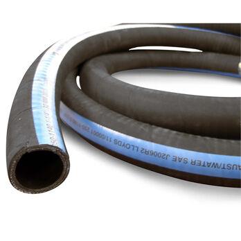 "Shields ShieldsFlex II 3-1/2"" Water/Exhaust Hose With Wire, 12-1/2'L"