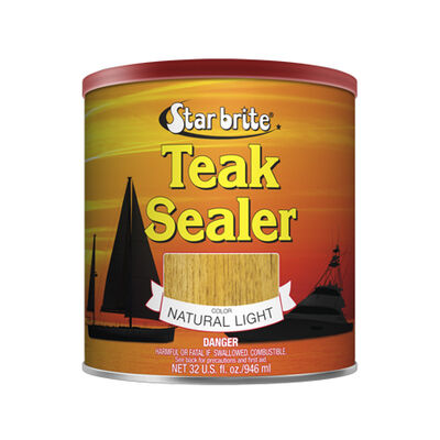 Star brite Tropical Teak Oil Sealer (Natural Light), 1 Gallon