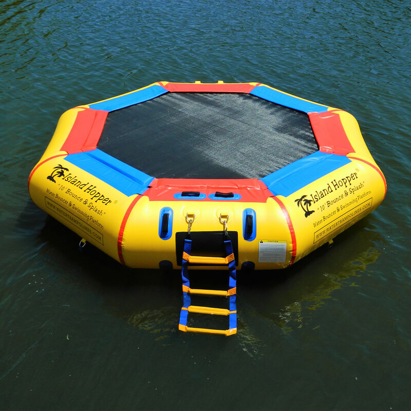 Island Hopper 10' Bounce-N-Splash Water Bouncer image number 3