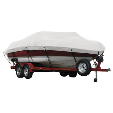 Exact Fit Covermate Sunbrella Boat Cover for Cobalt 252 252 Bowrider W/Custom Stainless Steel Tower Covers Swim Platform I/O