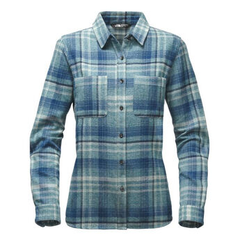 The North Face Women's Willow Creek Long-Sleeve Flannel Shirt