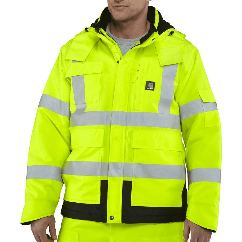 Carhartt Men's High Visibility Sherwood Jacket image number 1