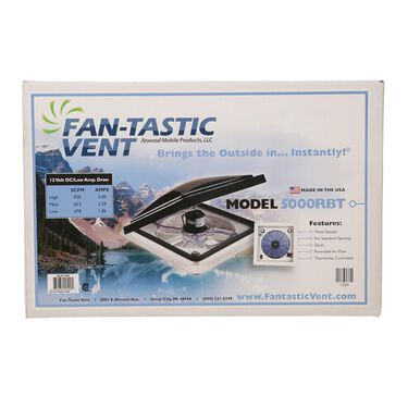 Dometic Deluxe Fan-Tastic Ceiling Fan Vent with Thermostat