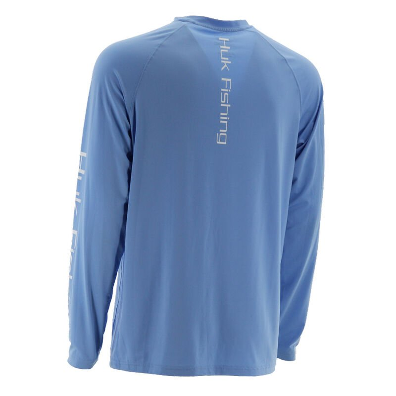 HUK Men's Pursuit Vented Long-Sleeve Tee image number 2