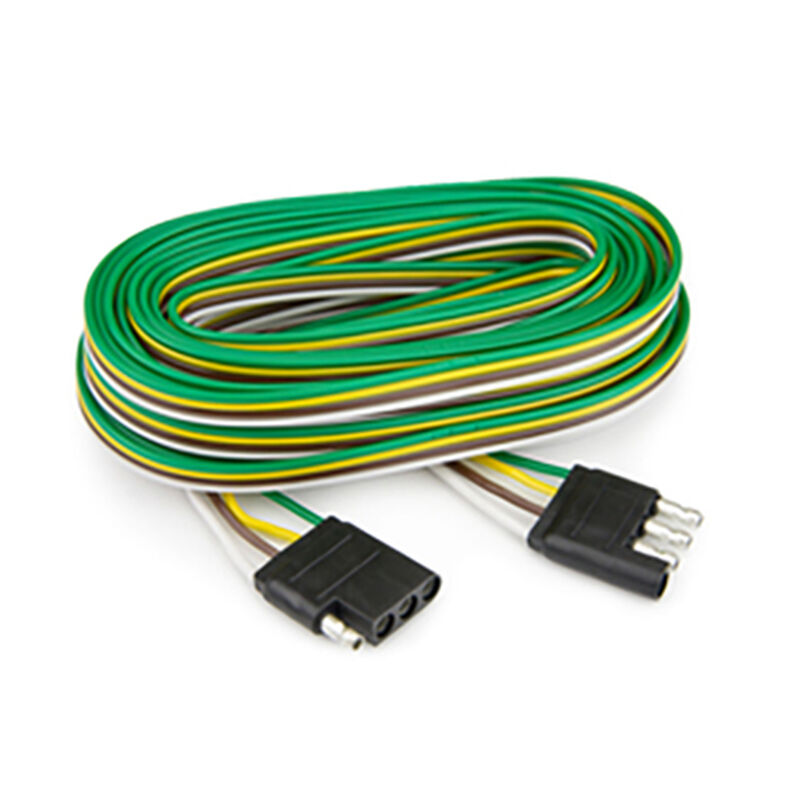 Reese Towpower 4-Way Towing Wireless Harness Flat Connector Loop, 24 feet image number 1