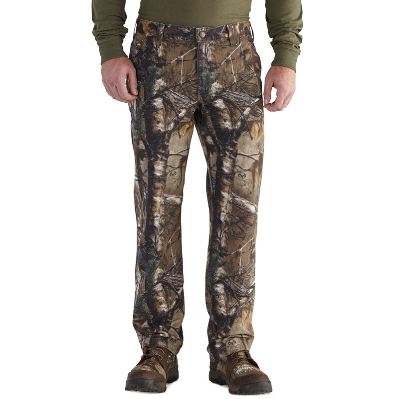 Carhartt Men's Rugged Flex Rigby Camo Dungaree Work Pant image number 1
