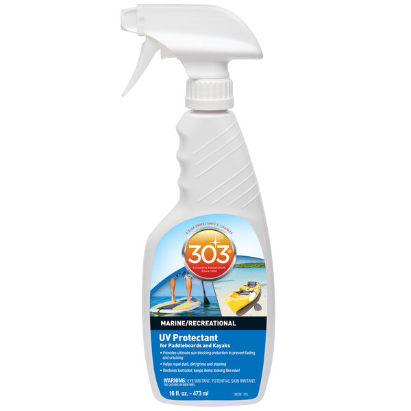 303 UV Protectant For Paddleboards/Kayaks, 16 oz.