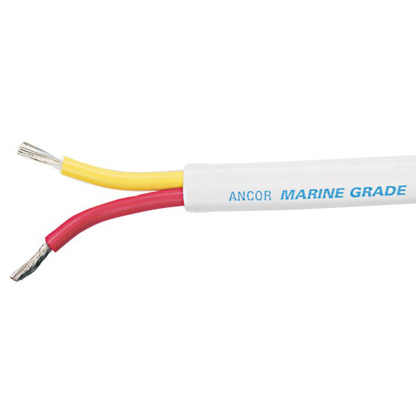 Ancor Safety Duplex Cable, 18/2 AWG, Flat-250'