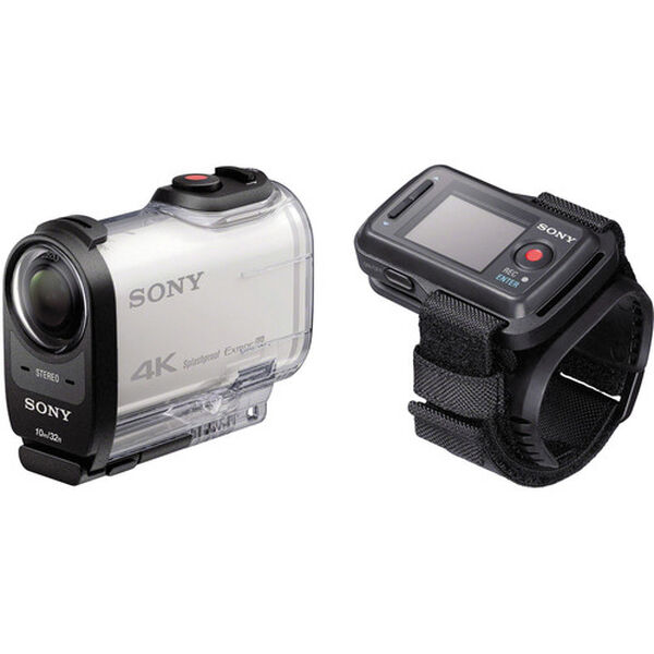 Sony Action Cam 4K With Live View Remote