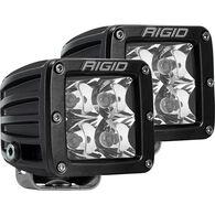 D-Series PRO Hybrid-Spot LED - Pair - Black