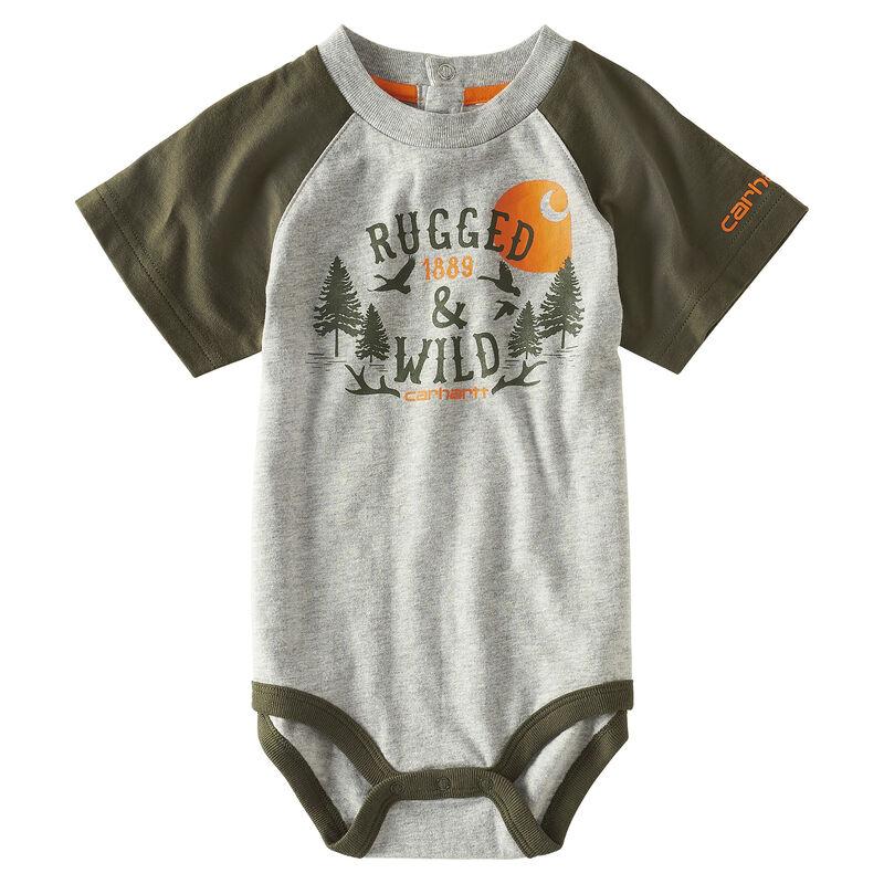 Carhartt Infant Boys' Rugged & Wild Bodysuit image number 1