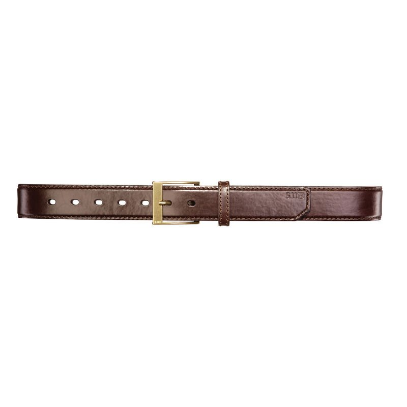 """5.11 Tactical Men's 1.5"""" Leather Casual Belt image number 3"""