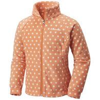 Columbia Girls' Benton Springs II Printed Full-Zip Fleece Jacket