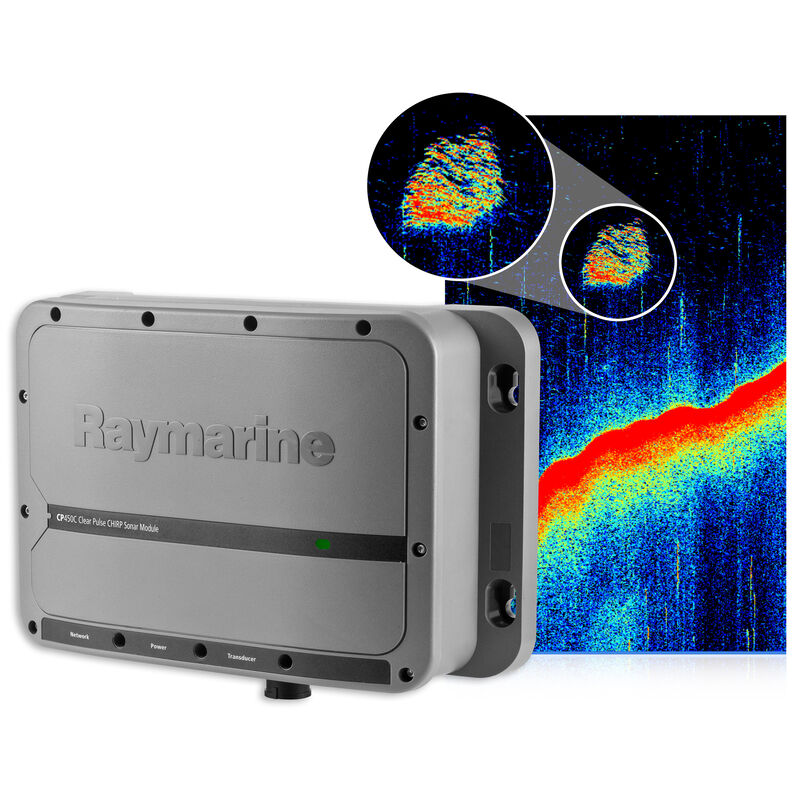 Raymarine CP450C ClearPulse CHIRP Sonar image number 2