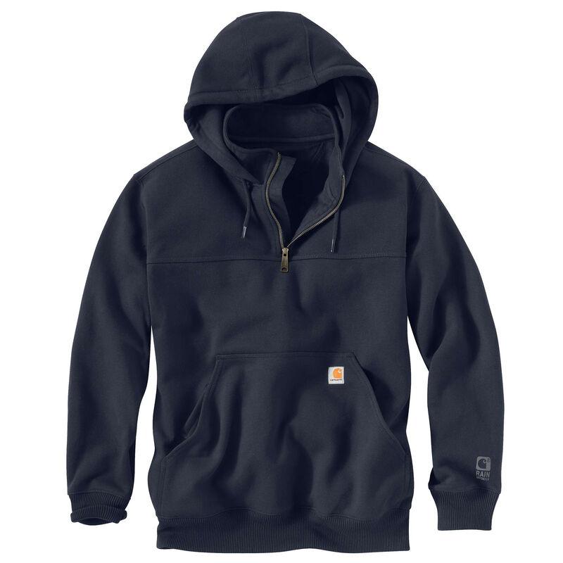 Carhartt Men's Rain Defender Paxton Heavyweight Hooded Zip Mock Sweatshirt image number 9