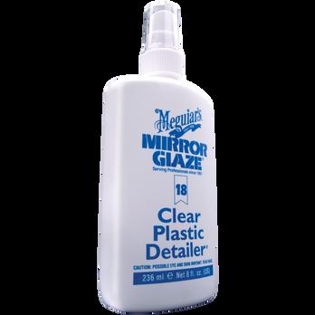 Meguiar's Clear Plastic Detailer, 8 oz.
