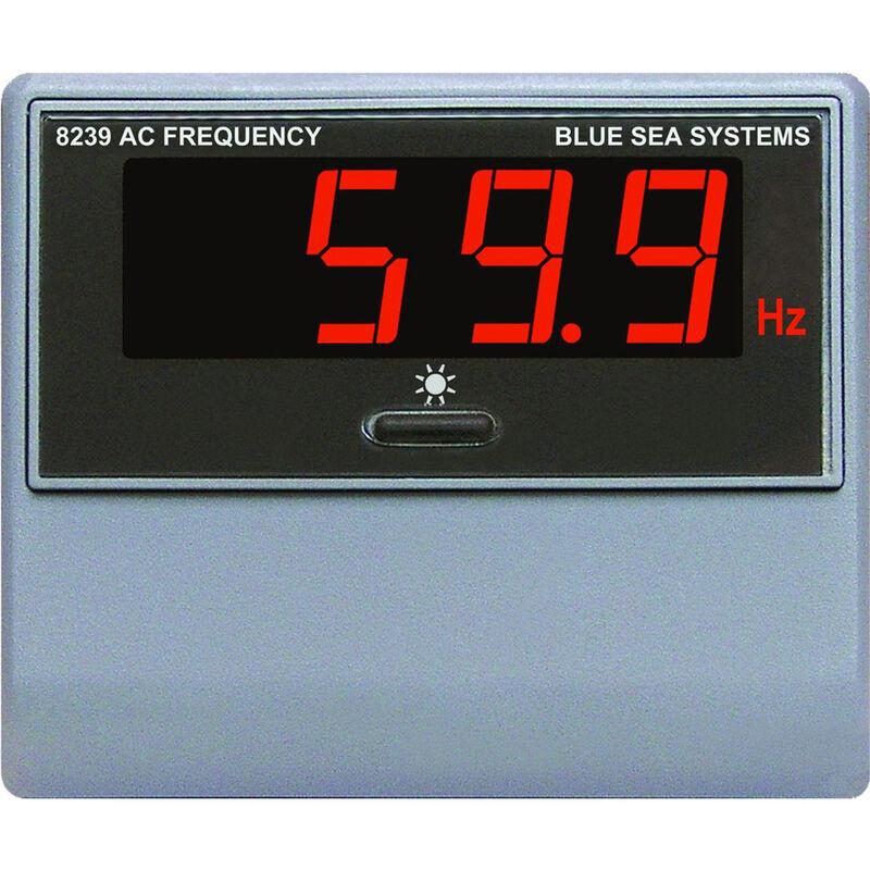 Blue Sea AC Digital Frequency Meter, 40-90Hz image number 1