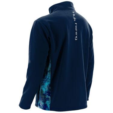 Huk Men's Fleece Quarter-Zip Pullover