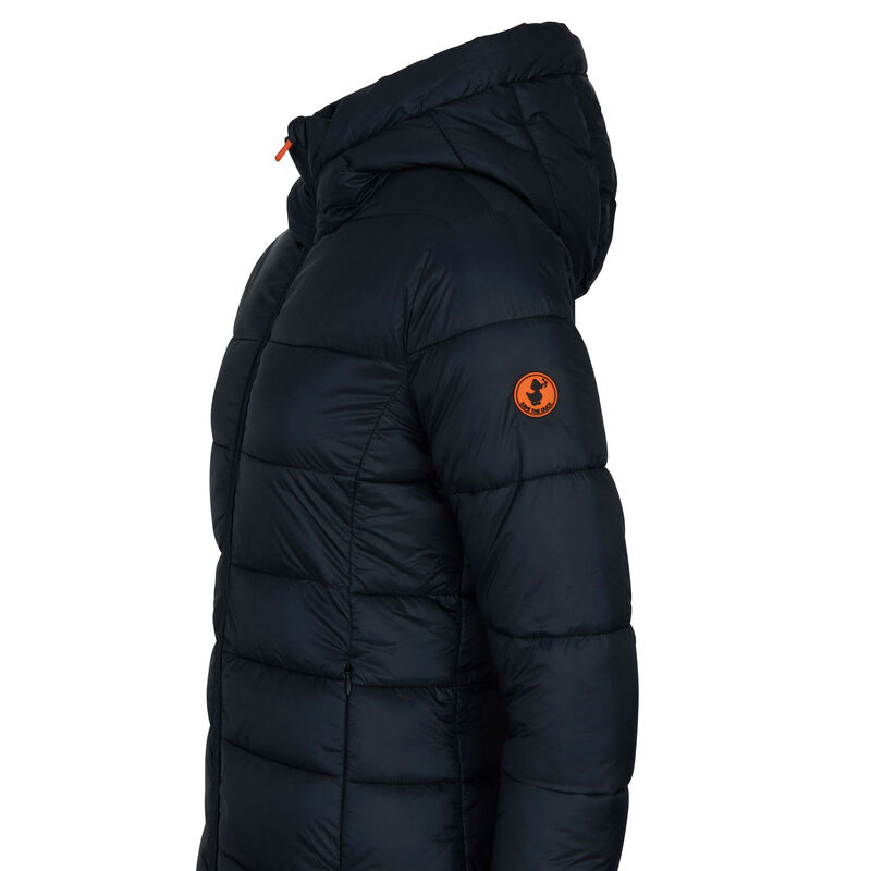 Save The Duck Women's Giga Long Quilted Winter Coat image number 5