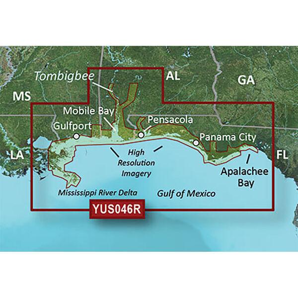 Garmin BlueChart g2 HD Cartography, Alabama/Mississippi Gulf Coast