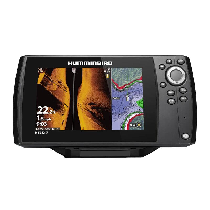 Humminbird Helix 7 CHIRP MEGA SI GPS G3 Fishfinder Chartplotter image number 1