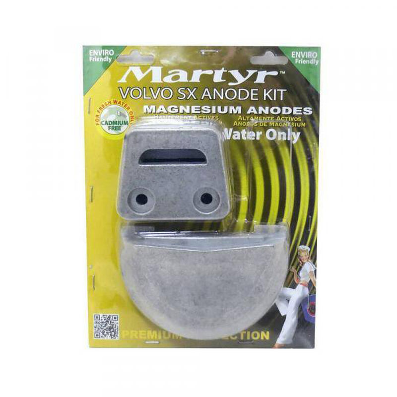 Martyr Volvo Penta Anode Kit for SX Engines - Magnesium image number 1