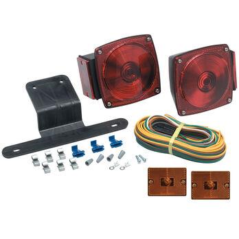 Optronics Submersible Universal Mount Combination Trailer Light Kit
