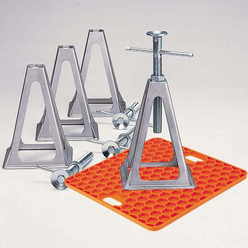 Aluminum Stack Jacks, Set of 4 image number 4