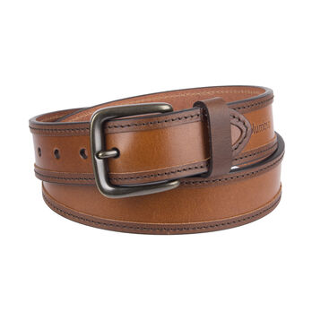 Columbia Men's Leather Logo Belt