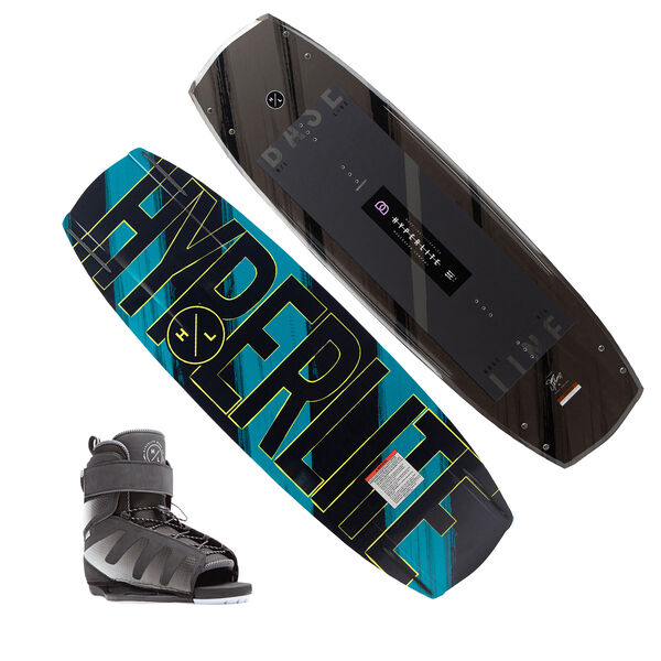 Hyperlite Baseline Wakeboard With Session Bindings