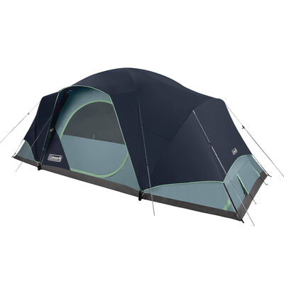 Coleman Skydome 12-Person Camping Tent XL, Blue Nights