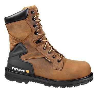 Carhartt CORE Men's 8-Inch Bison Brown Waterproof Steel Toe Work Boot